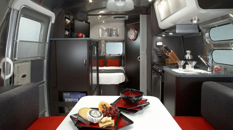 Special Edition Victorinox Airstream Interior