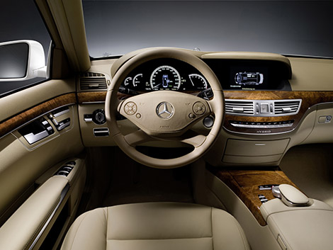 2010 S-Class Interior