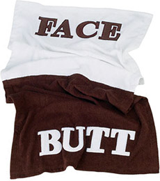 Westminster Butt Face Towel