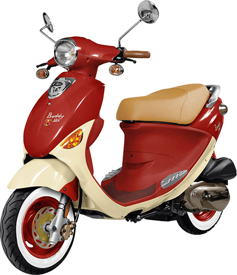 Genuine Scooter Co. Buddy 125 Series Italia