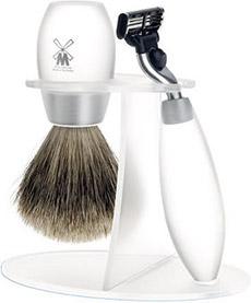 Muhle Pinsel Frosted Acrylic Shaving Set