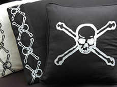 Pirate Pillow Cases and Throw Pillows