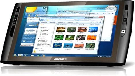 Archos 9PCtablet