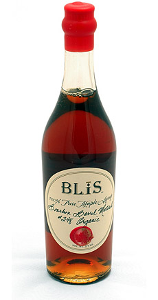 BLiS Bourbon Barrel Aged Maple Syrup