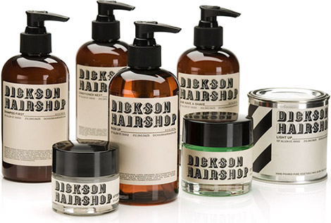 Dickson Hairshop Collection