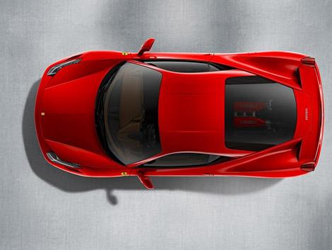 2010 Ferrari 458 Italia Top