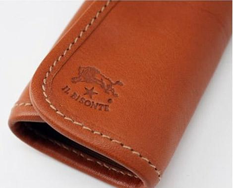 Il Bisonte Leather Key Case