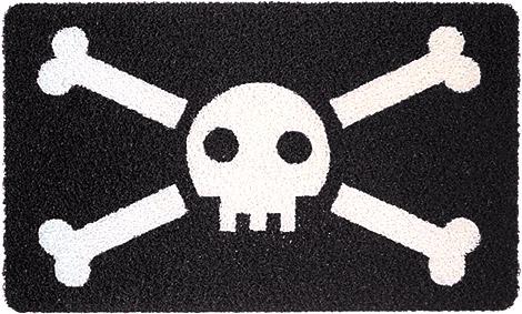 Jolly Roger Doormat