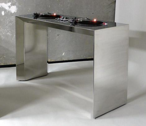 MetroFarm Stainless Steel DJ Deck