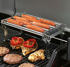 Motorized Hot Dog Griller