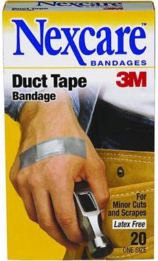 Nexcare 3M Duct Tape Bandage