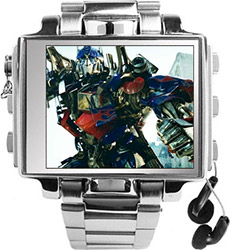 Stainless Steel Video Watch