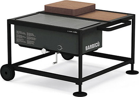 Alessi Barbicù Modular Grill