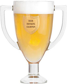 Beer Drinking Champion Trophy Mug