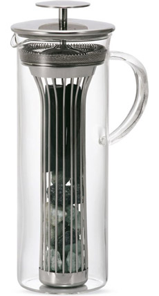 Charcoal Water Pitcher