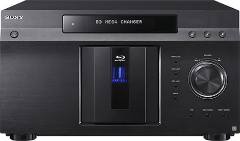 Sony 400-Disc Blu-ray MegaChanger
