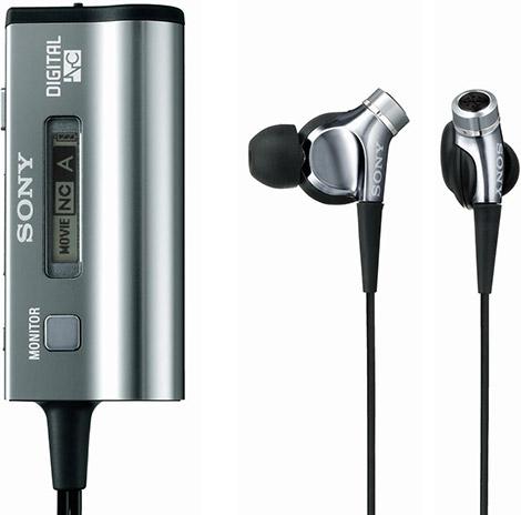 Sony MDR-NC300D Noice-Canceling Earphones