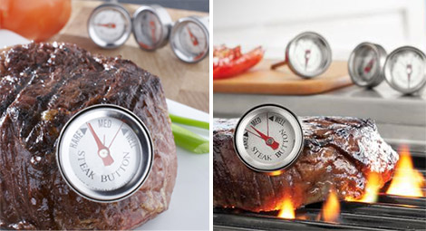 Sur La Table Reusable Steak Thermometer