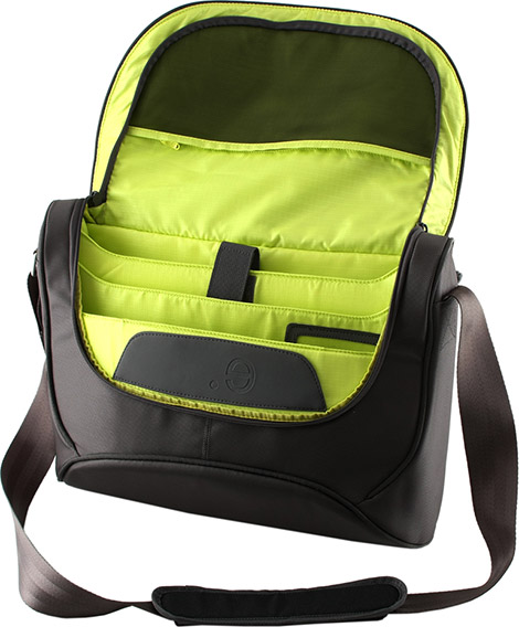 Be.ez LA Besace 15 Lime Drop Macbook Messenger Bag