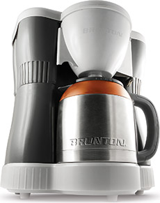 Brunton BrewFire Dual-Fuel Coffee Maker