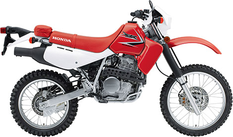 Honda XR650L Dual-Sport Bike