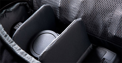 Incase DSLR Bag Interior