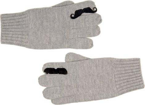Jack Spade Merino Moustache Gloves