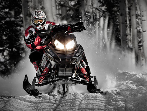 2101 Polaris 600 Rush Ultra High-Performance Snowmobile