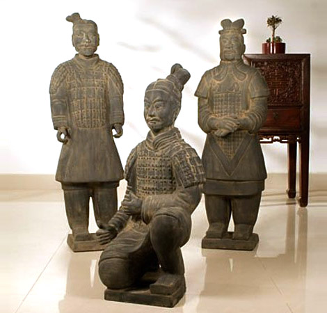 Life-Size Terra Cotta Warriors