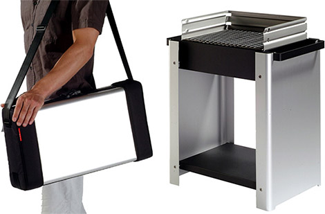 Pizzoni Transformable Grill
