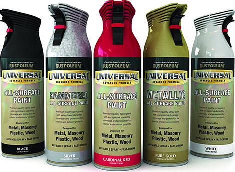 rust oleum universal spray paint gearculture. Black Bedroom Furniture Sets. Home Design Ideas
