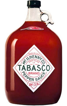 Personalized Tabasco Gallon Jugs
