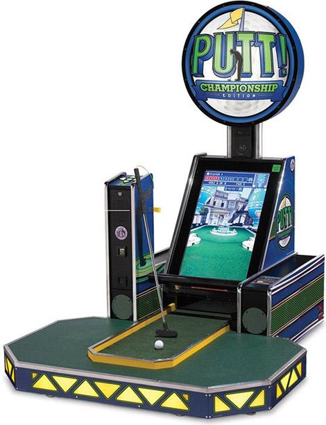 Putt Arcade Miniature Golf Game