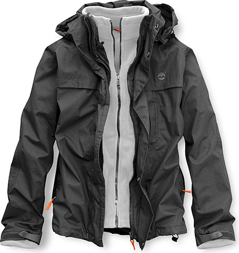 Timberland 3-in-1 Poplin Jacket