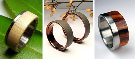 Zoe & Doyle Titanium Ring Collection