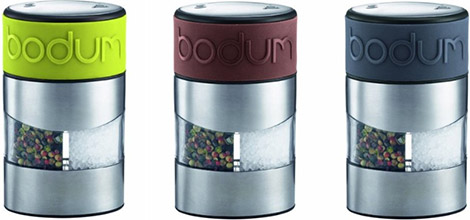 Bodum Twin Salt & Pepper Grinder