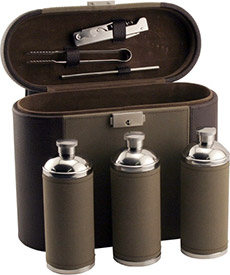 Deluxe Travel Flask Set