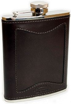 Filson Bridle Leather Hip Flask