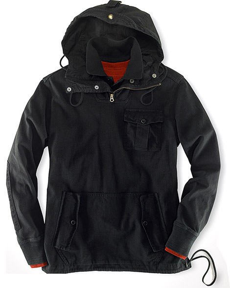 Ralph Lauren Rustic Hooded Rugby