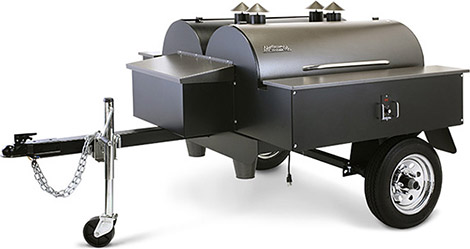 Traeger Double BBQ Trailer