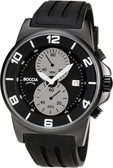 Boccia Titanium Chronograph Watch