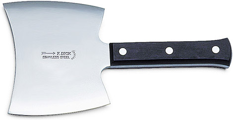 F. Dick Double-Edged Cleaver
