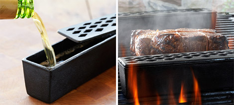 Moistly Grilled Cast Iron Grill Humidifier