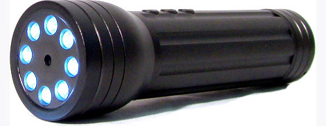 Nightvision Flashlight Camcorder