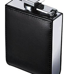 Wallet Leather Flask