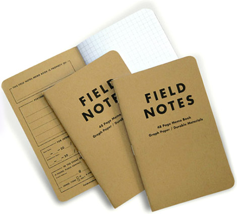 Field Notes Memo Pad