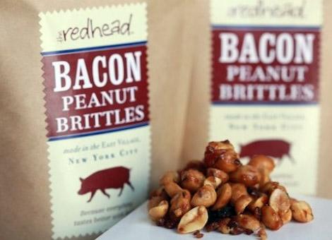 The Redhead Bacon Peanut Brittles