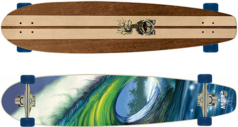 Arbor Cross-Step Skateboard