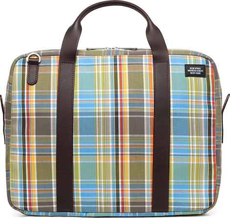 Jack Spade Madras Long Handle Brief