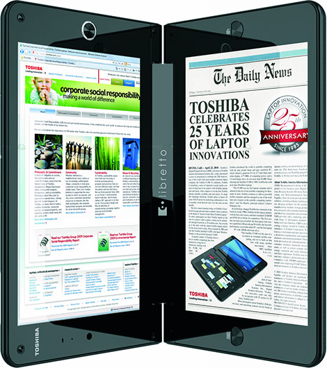 Toshiba Libretto W100 Tablet